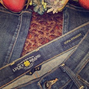 Lucky Brand Sofia straight leg jean - sz 4